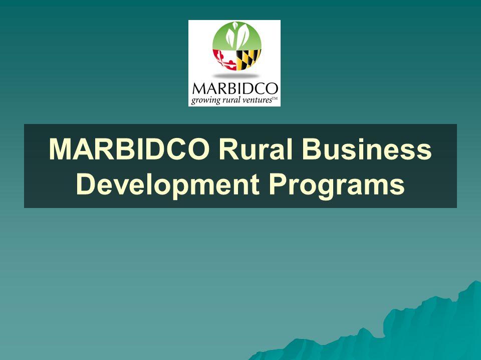 MARBIDCO Rural Business Development Programs