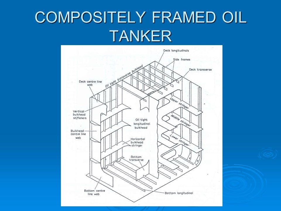 COMPOSITELY FRAMED OIL TANKER