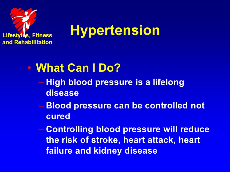 Hypertension What Can I Do.