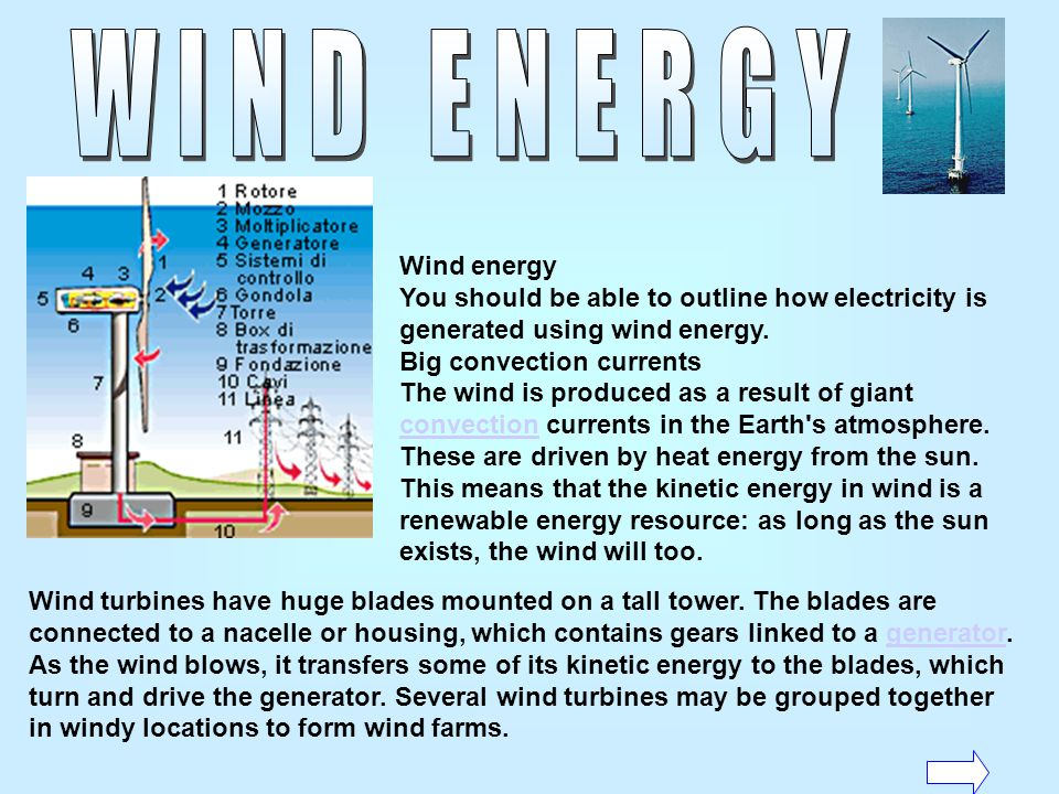 Sources of energy can be described as renewable and non-renewable.Renewable sources are those which are continually being replaced such as energy from