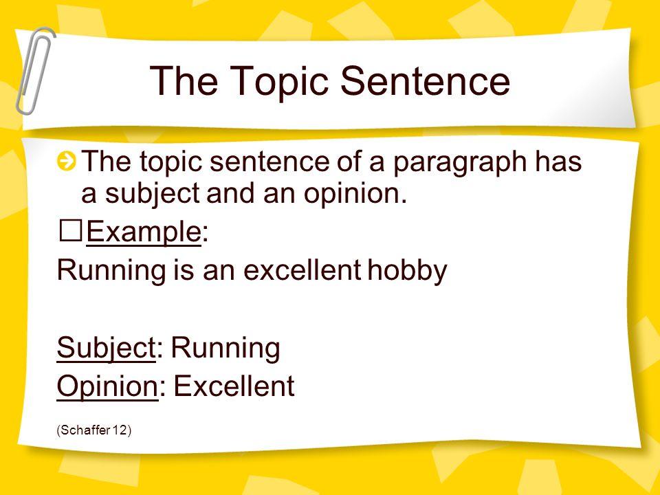 Good Topics For A Process Essay