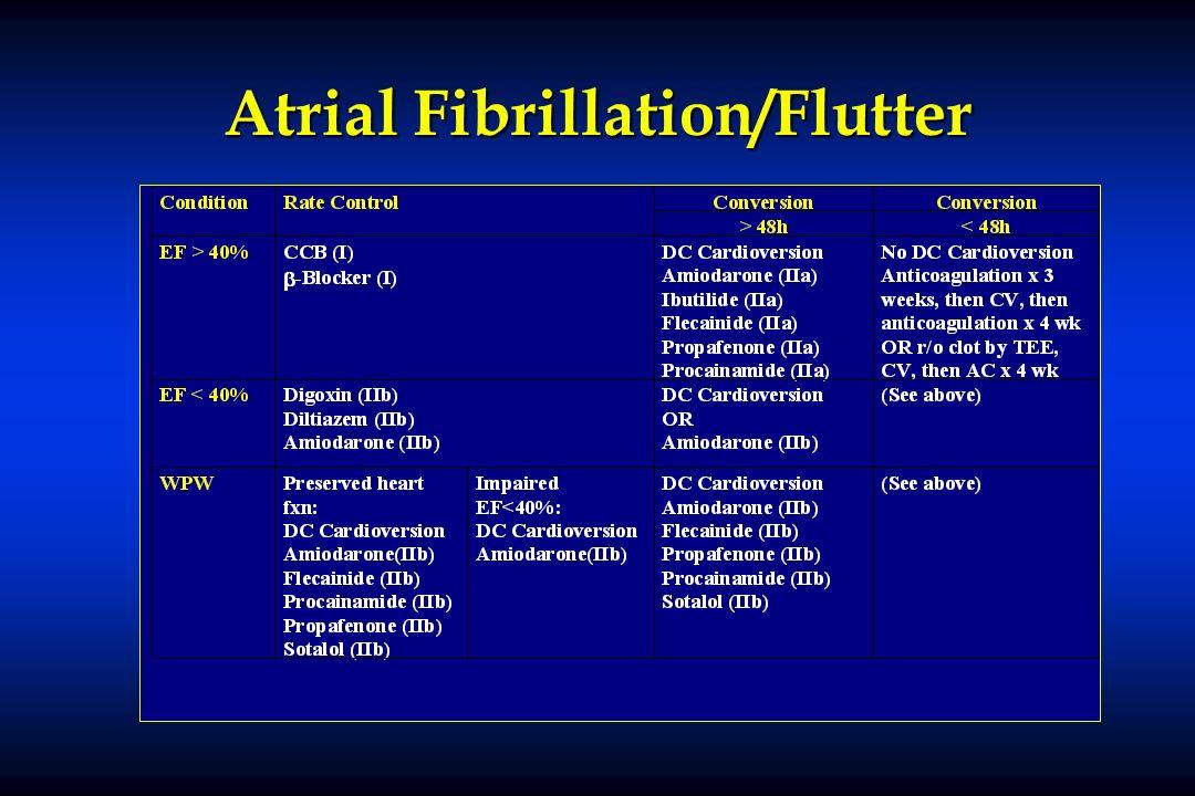 Atrial Fibrillation/Flutter