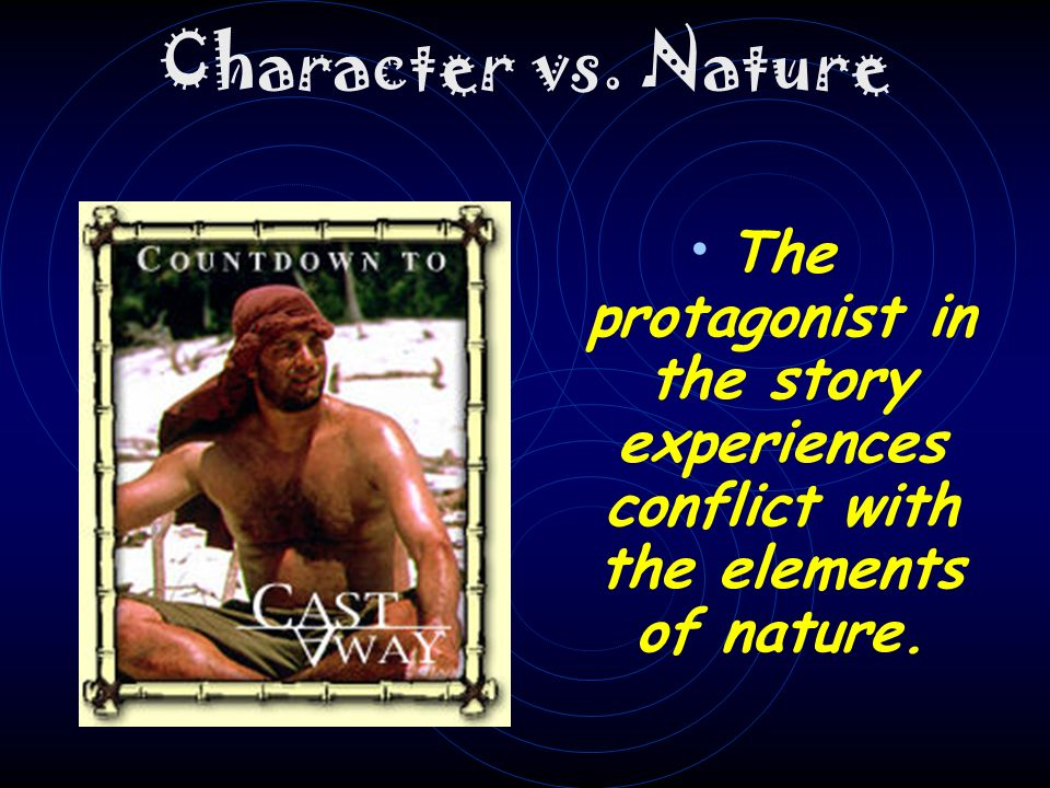 Character vs. Society The protagonist in the story experiences conflict with society as a whole.