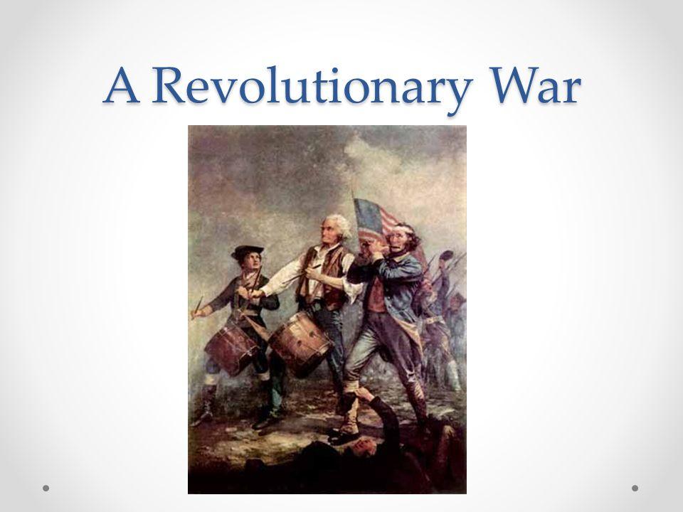 A Revolutionary War