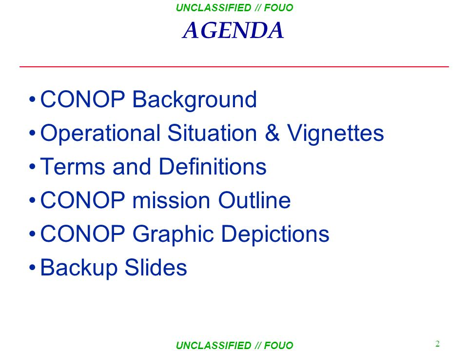 Joint Capability Technology Demonstration (JCTD) FY08 CONCEPT OF OPERATIONS (CONOPS) As Of: 23 Jun 08