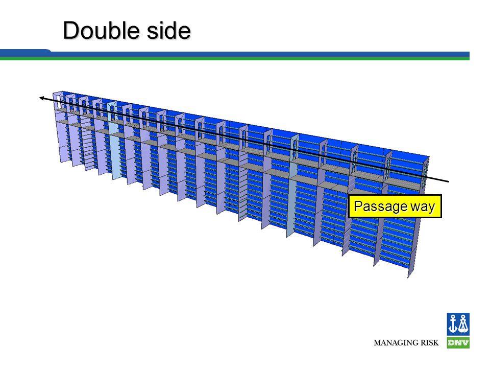 Double Bottom Foundation deck