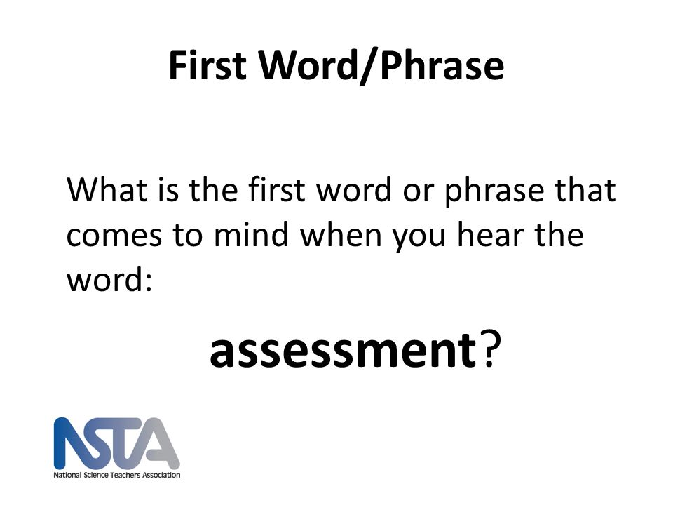 Key Point #3: Formative assessment promotes thinking as well as provides information about thinking nsta.org