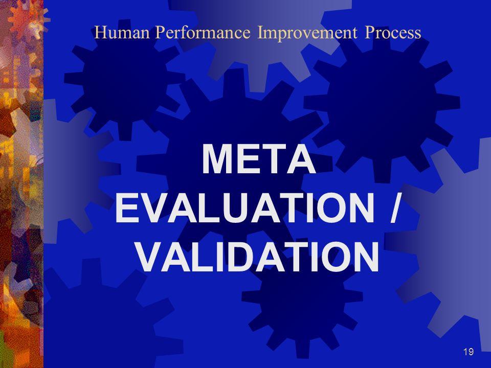 18 Human Performance Improvement Process