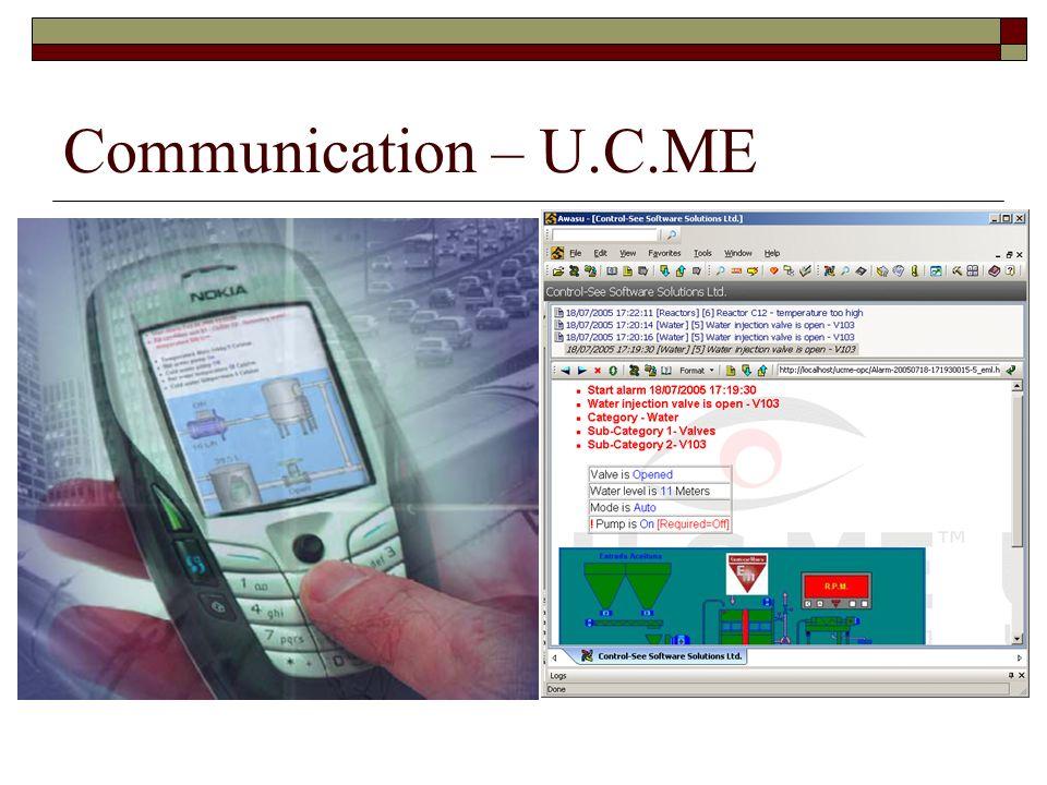 Communication – U.C.ME