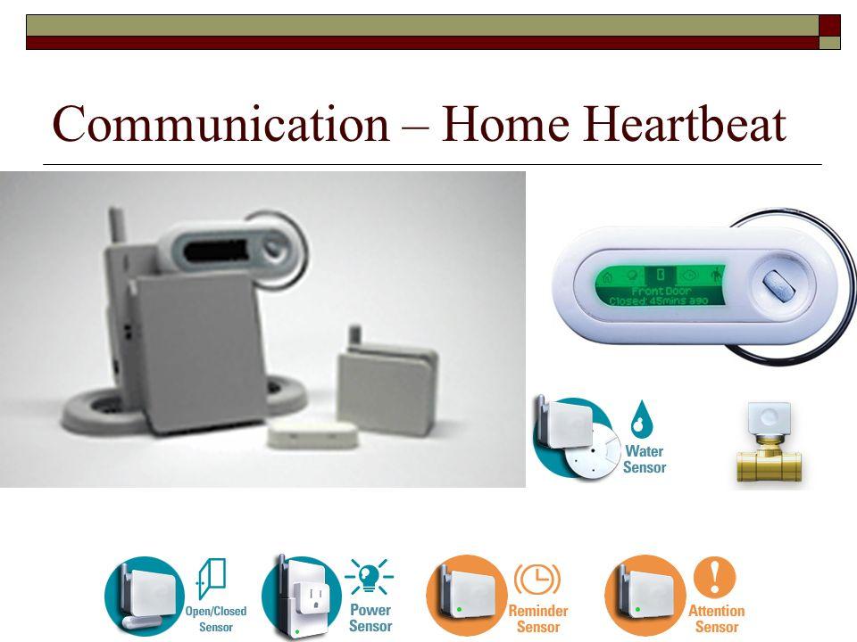Communication – Home Heartbeat
