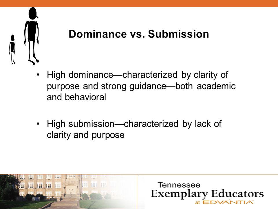 Dominance vs.
