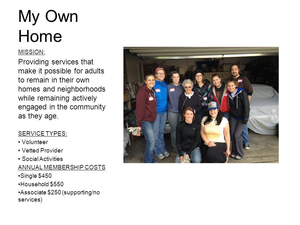 Service Types Volunteer Vetted Provider Social Interaction