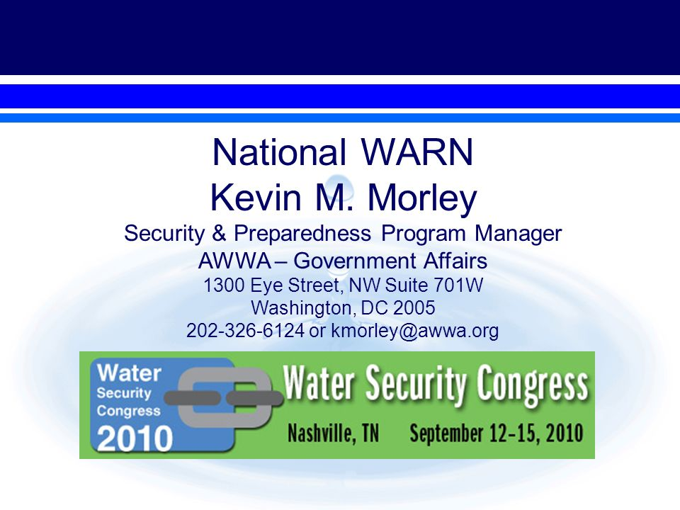 National WARN Kevin M.