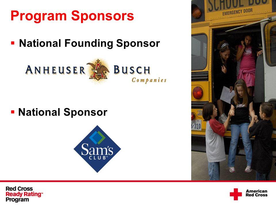 National Sponsor Program Sponsors National Founding Sponsor