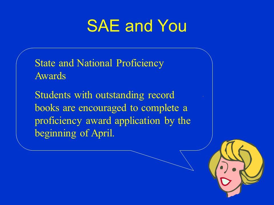 SAE and You As stated before: The PA Game Commission also provides regional (Game Commission regions) and state level monetary awards for outstanding