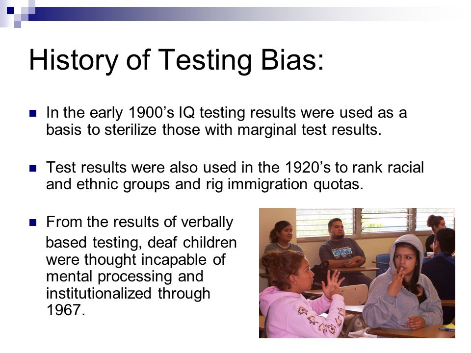 2. Bias is defined as the presence of some characteristic of an item that results in differential performance for two individuals of the same ability