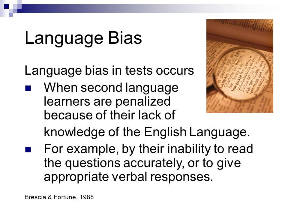 Socio-Economic Bias Socio-economic bias occurs in tests when students are penalized based on their Socio-economic status 1 : the isolated, rural envir