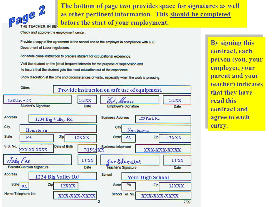 Page 16 Reminders: Be sure budgeted dollar entries agree with page 5.