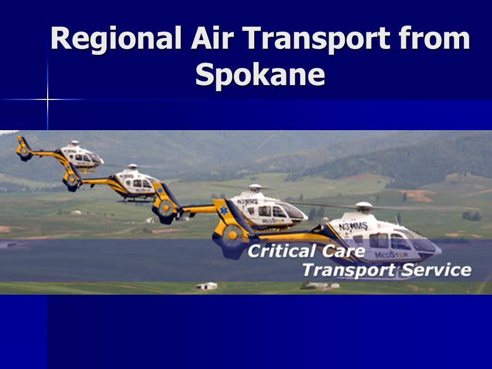 Regional Air Transport from Spokane