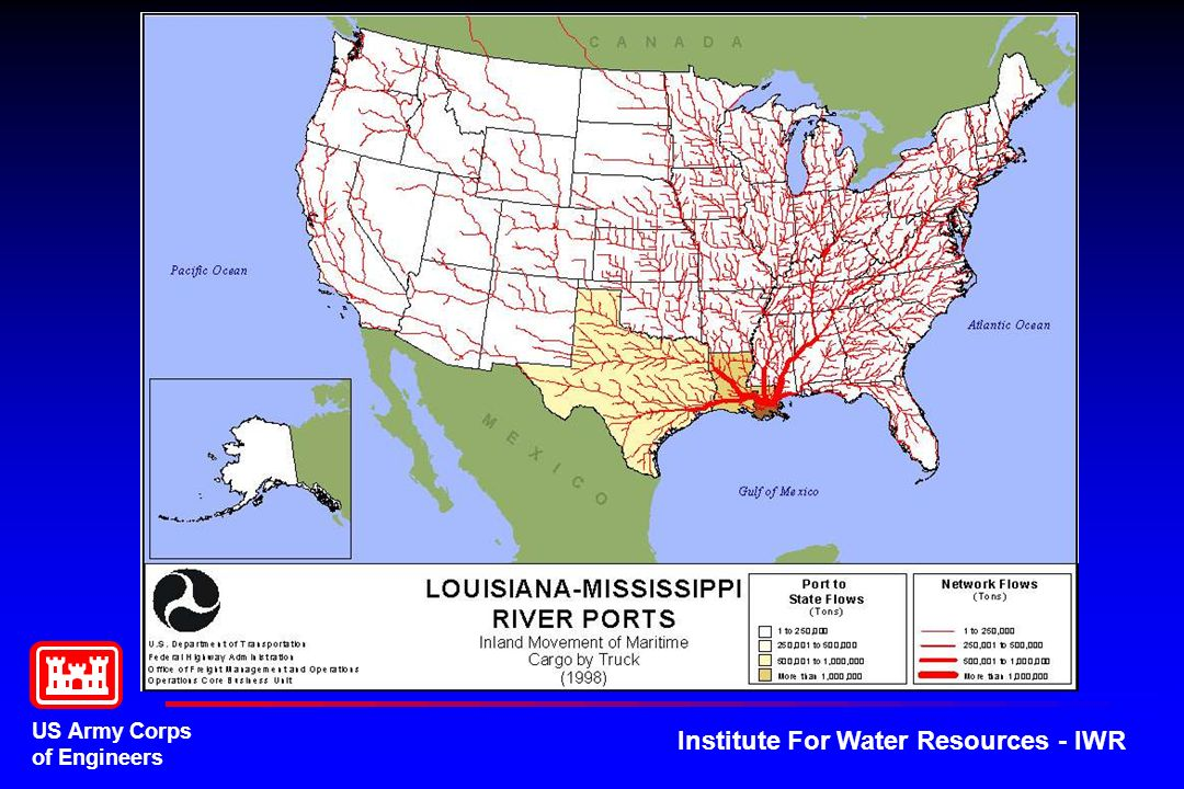 US Army Corps of Engineers Institute For Water Resources - IWR