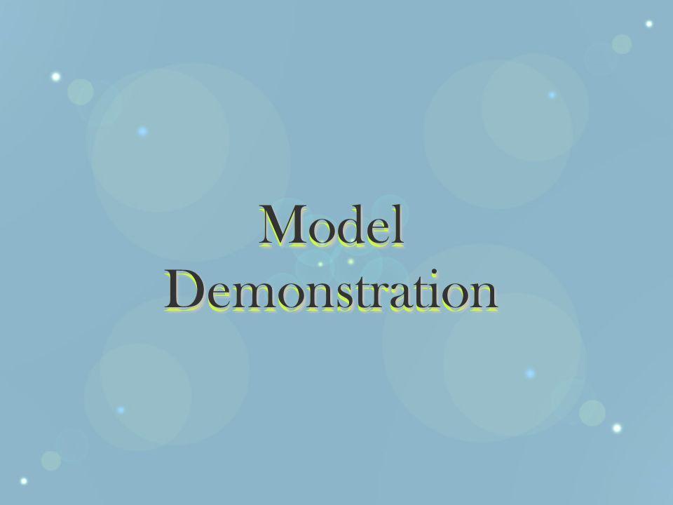 Model Demonstration
