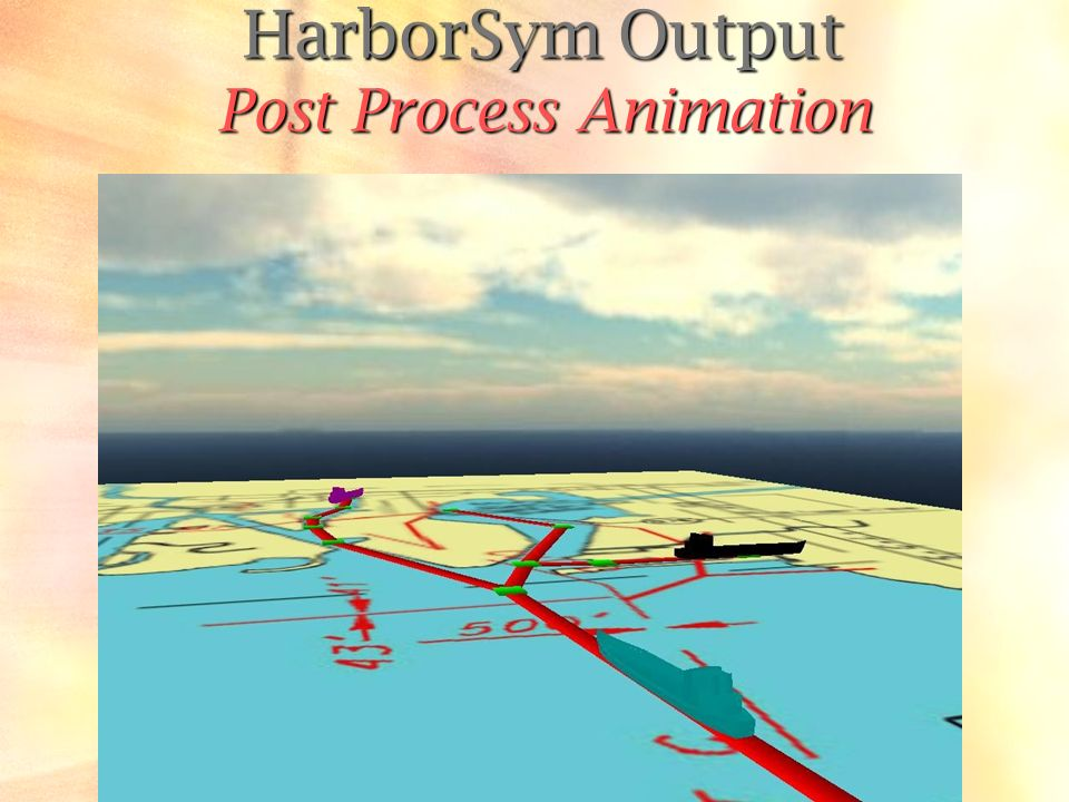 HarborSym Output Post Process Animation