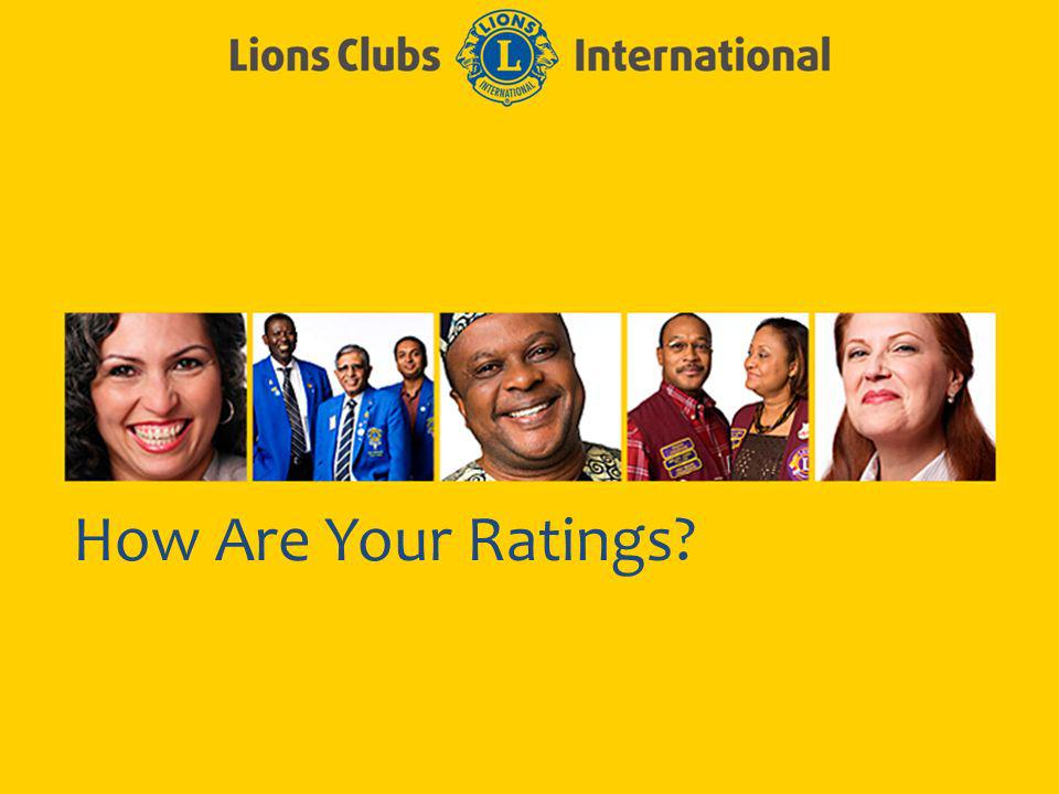 How Are Your Ratings?