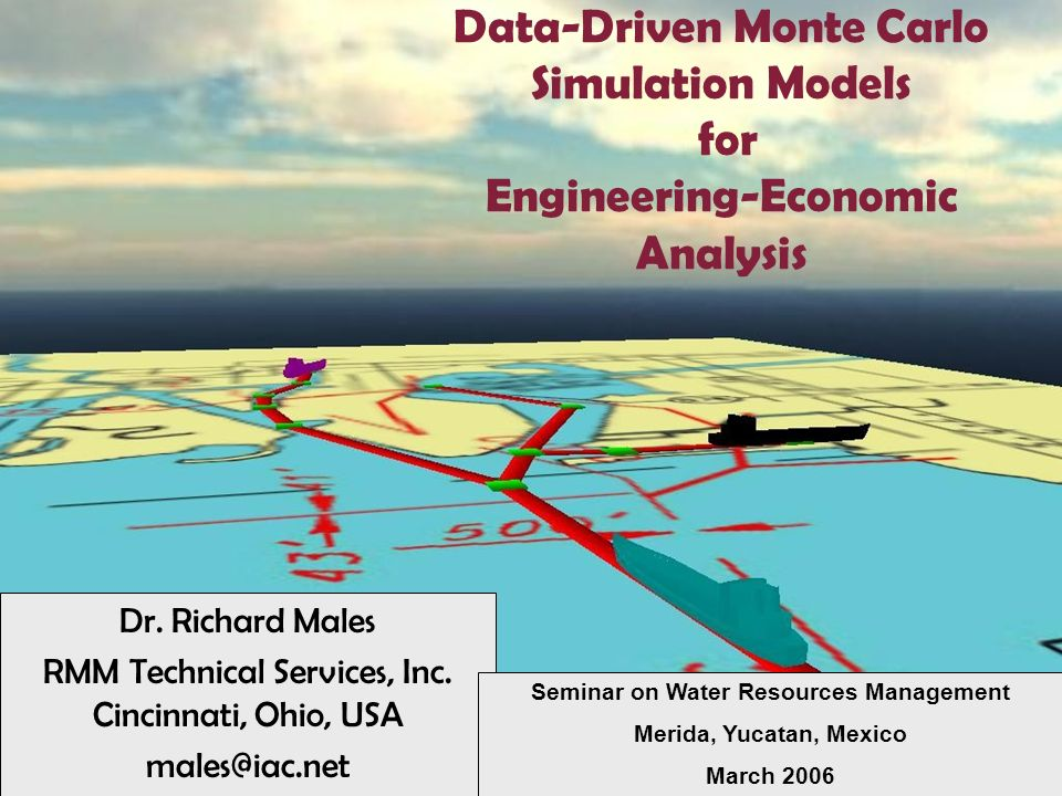Information Stored in Data Base –Storms / Storm Seasons / Probabilities –Beach Morphology –Morphology Change Due to Storm –Lots / Structures –Damage Functions