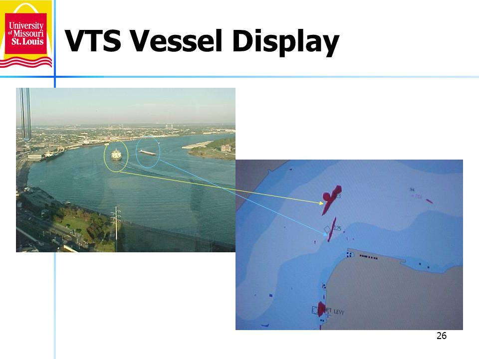 26 VTS Vessel Display