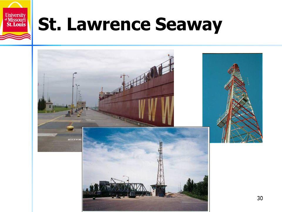 30 St. Lawrence Seaway