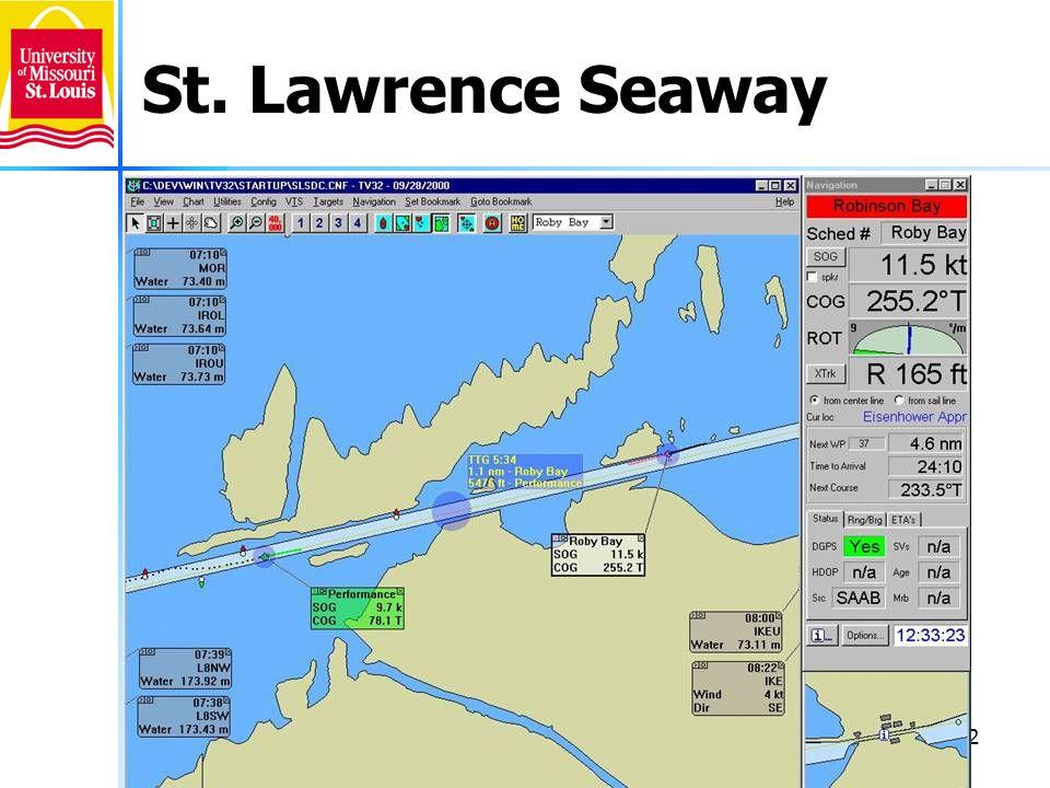 32 St. Lawrence Seaway