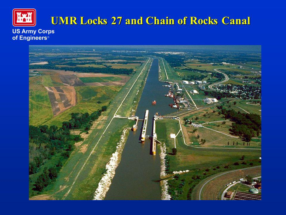 UMR Locks 27 and Chain of Rocks Canal