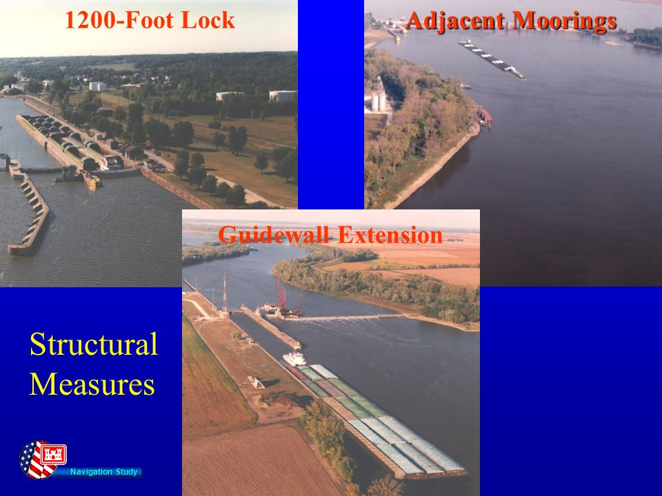 Navigation Study Adjacent Moorings 1200-Foot Lock Guidewall Extension Structural Measures