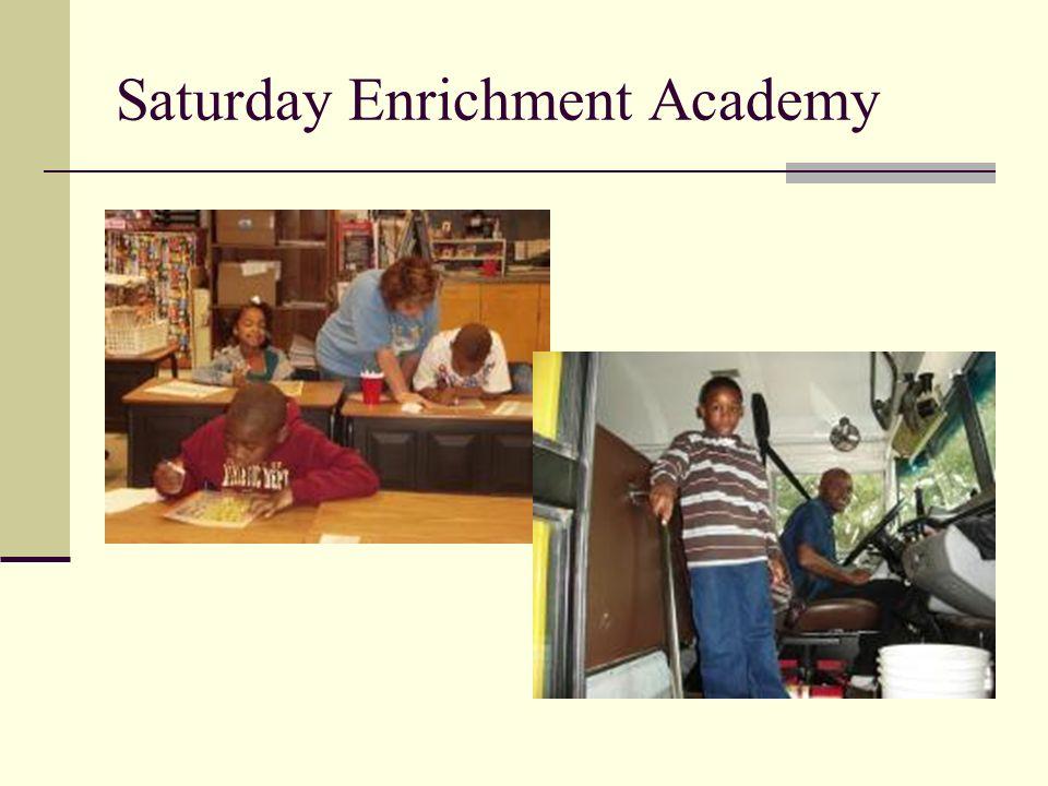 Saturday Enrichment Academy