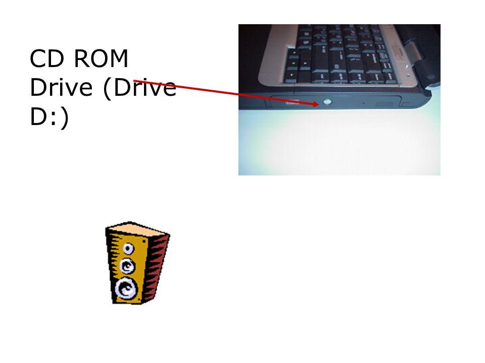 CD ROM Drive (Drive D:)