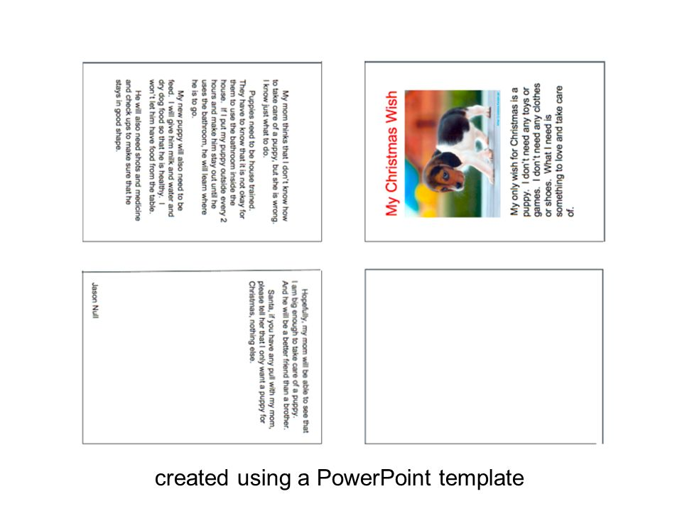 created using a PowerPoint template