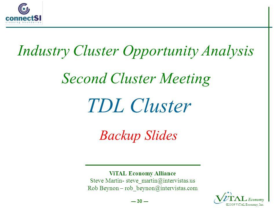 ©2009 ViTAL Economy, Inc.