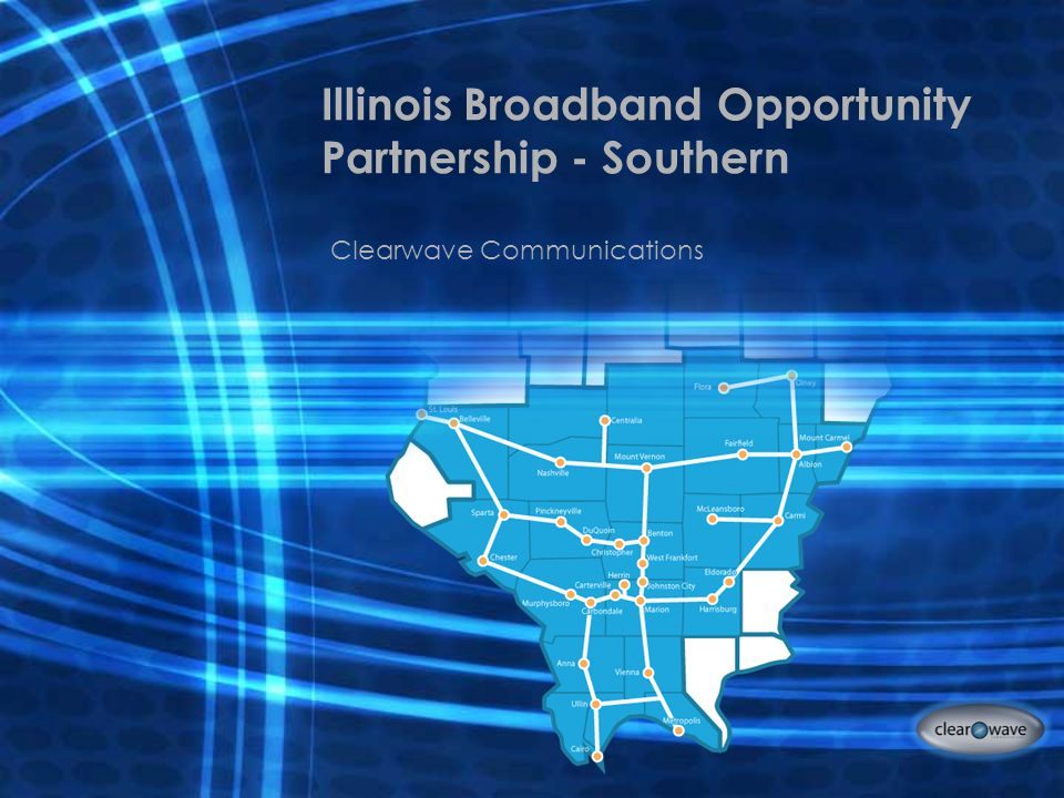 Illinois Broadband Opportunity Partnership - Southern Clearwave Communications
