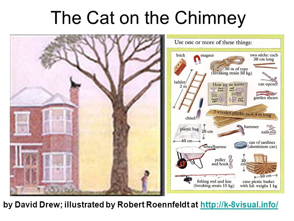 by David Drew; illustrated by Robert Roennfeldt at   The Cat on the Chimney