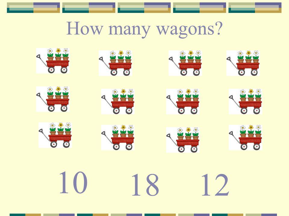 How many wagons? 1218 10