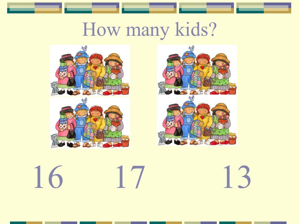 How many kids? 161713
