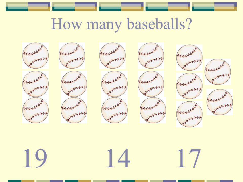 How many baseballs? 191417
