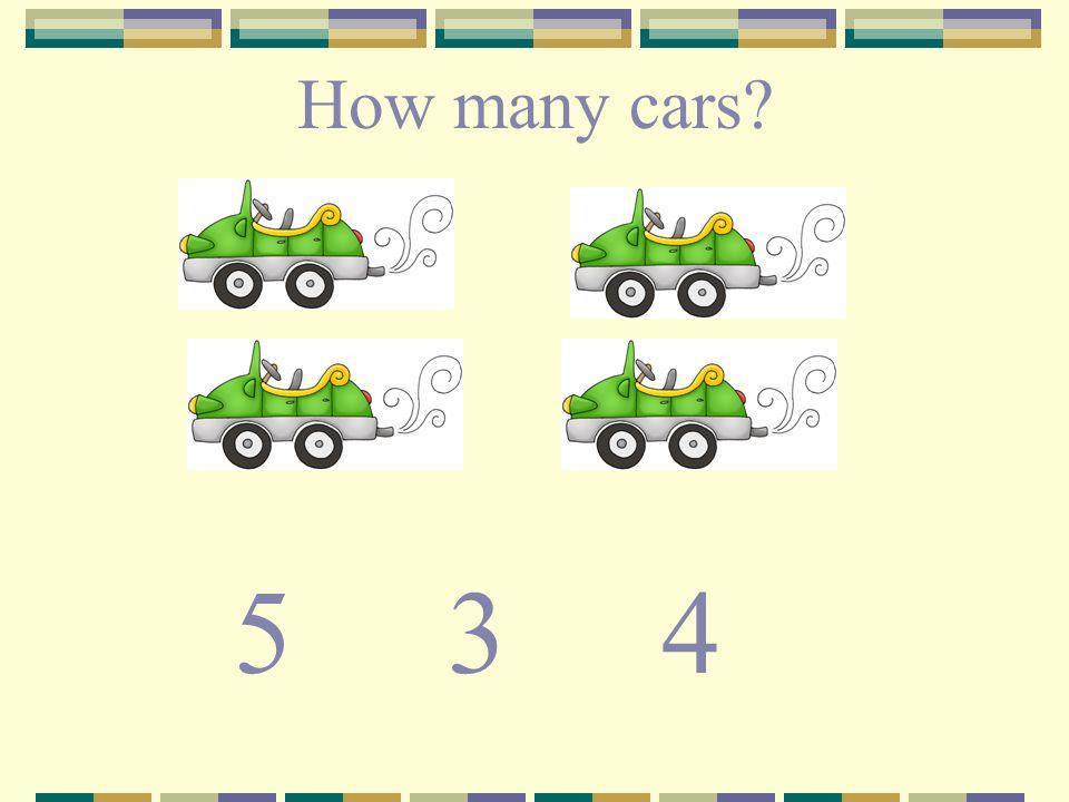 How many cars? 534