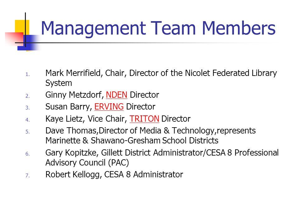 Management Team Members 1.
