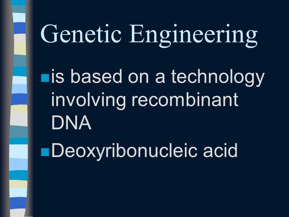 Two areas ngngenetic engineering nenembryo transfer