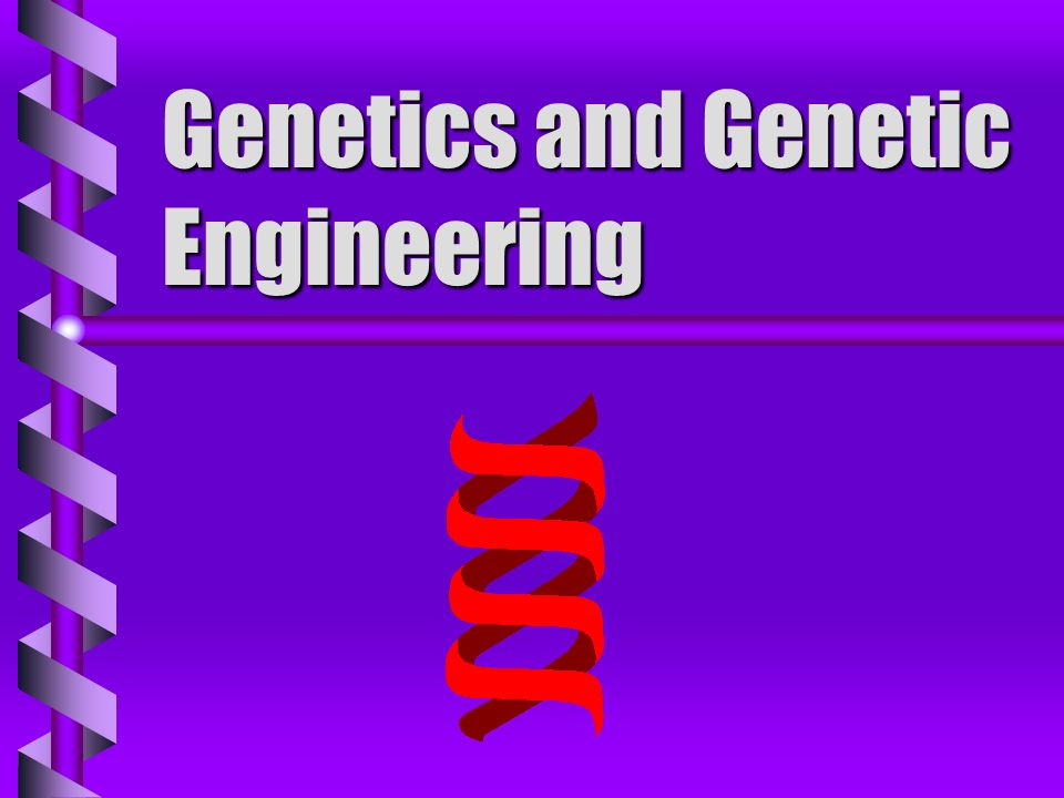 Genetics b science dealing with passage of traits from one generation to another