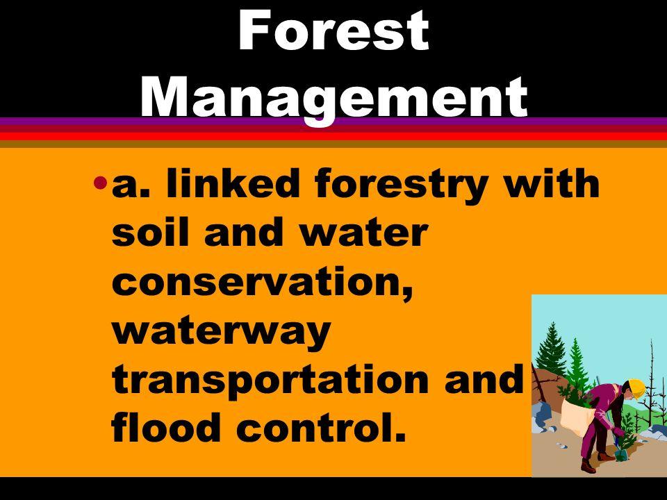 Forest Management l 16.
