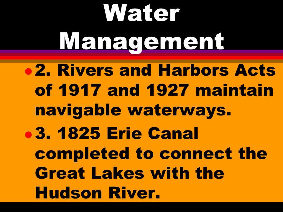 Water Management l 1.