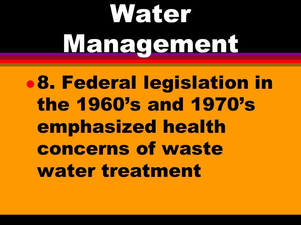 Water Management l 7.