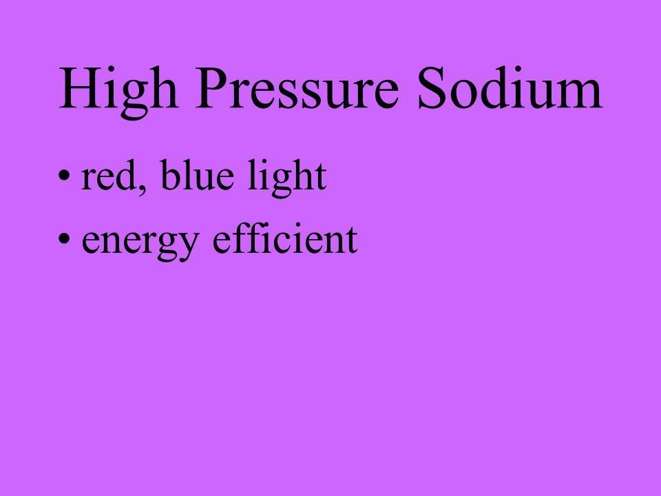 Low Pressure Sodium yellow glow energy efficient yellow - orange light
